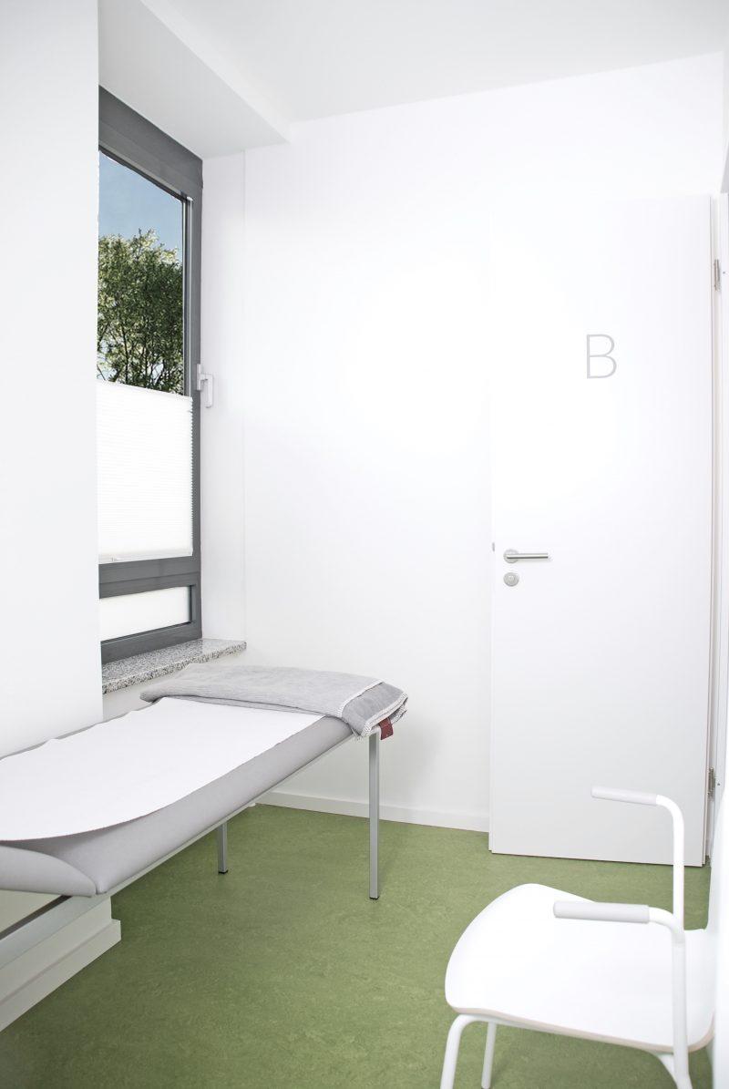 Nach einer Behandlung können Sie sich gern noch etwas bei uns ausruhen und entspannen.